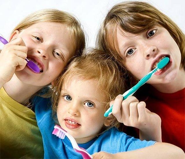 Salud dental en niños